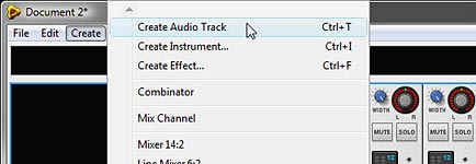 Adding 2 more audio tracks to the template