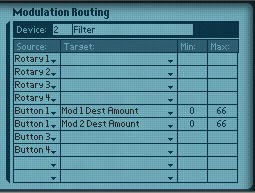 Programmer Modulation Routing in the Combinator