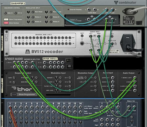 Vocoder Routing setup