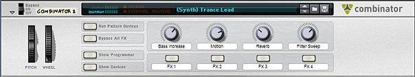 A simple Trance Lead Combinator