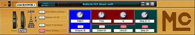 Mick Comito's ReBirth PCF Effect Combinator