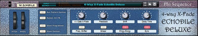 4-Way Crossfade Echodile Deluxe