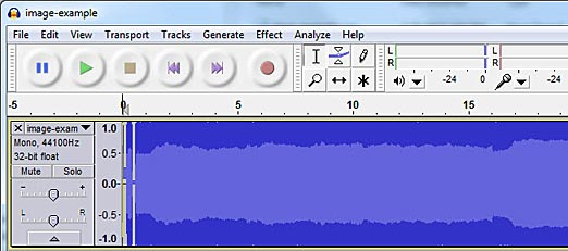 audacity how to add wav files